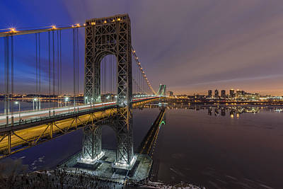 Photograph - Gwb For Super Bowl Xlviii by Eduard Moldoveanu
