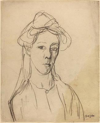 Self-portrait Drawing - Gwen John, Self-portrait, British, 1876 - 1939 by Quint Lox