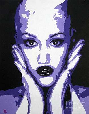 Postmodern Mixed Media - Gwen Stefani by Venus