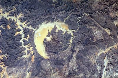 Gweni-fada Impact Crater Art Print