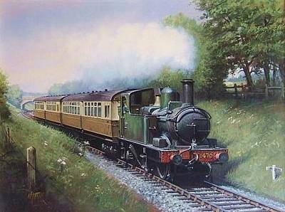 Gwr 0.4.2t Engine. Original by Mike  Jeffries
