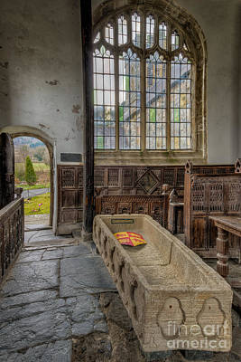 North Wales Digital Art - Gwydir Chapel by Adrian Evans