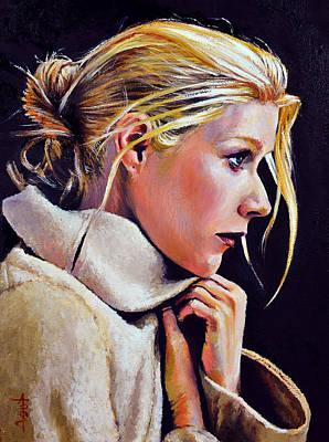 Gwyneth Art Print by Anthony Sell