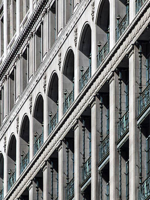 Photograph - Gwynne Building Exterior by Rob Amend
