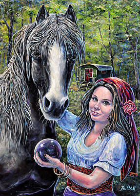 Painting - Gypsies by Gail Butler