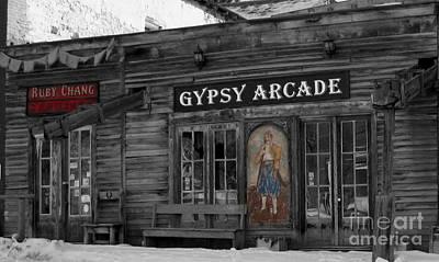 Gypsy Arcade Art Print by Janice Westerberg