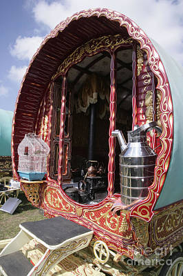 Gypsy Wagon Photograph - Gypsy Caravan by Paul Felix