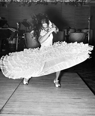Gypsy Photograph - Gypsy Dancer Carmen Amaya by Underwood Archives