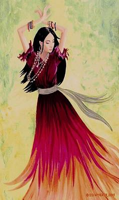 Painting - Gypsy Dancer by Sophia Schmierer