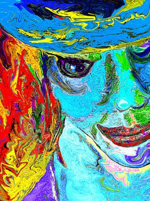 Portraiture Digital Art - Gypsy by Donna Blackhall