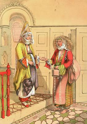 Gypsy Fortune Telling Art Print