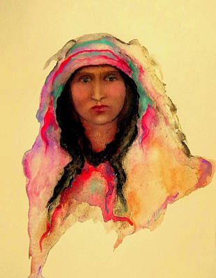 Painting - Gypsy Girl by Johanna Elik