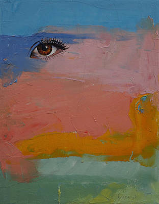 Eyelash Painting - Gypsy by Michael Creese