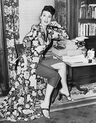 Gypsy Photograph - Gypsy Rose Lee by Fred Palumbo