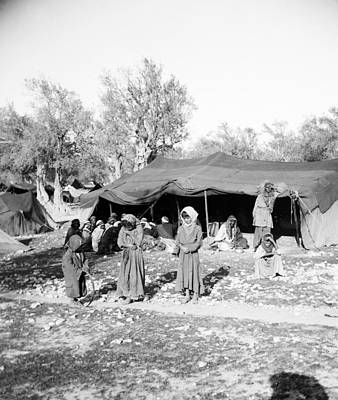 Photograph - Gyspy Encampment, C1900 by Granger