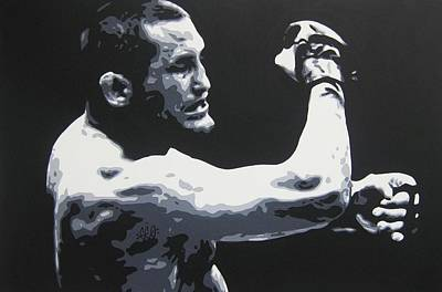 Knockout Painting - H Bomb by Geo Thomson