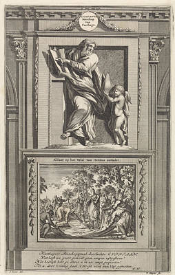H. Cyprian Of Carthage, Jan Luyken, Zacharias Chatelain II Art Print