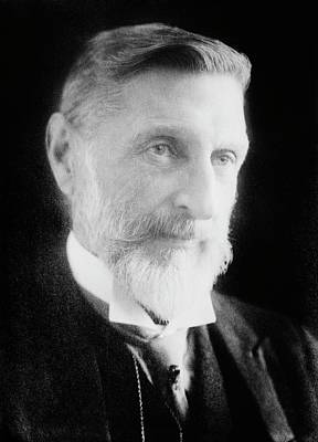 H. Rider Haggard Art Print by Library Of Congress