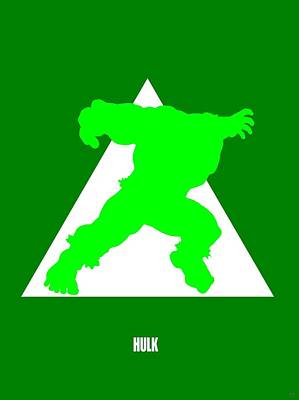 H Ulk Poster Art Print