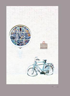 Haarlem Bike 3 Art Print