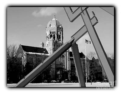 Photograph - Haas And Victors Lament - Border - Bw by Jacqueline M Lewis