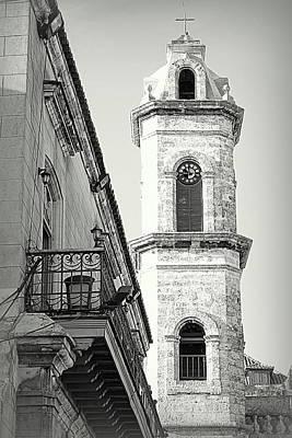 Habana Clock Tower Art Print
