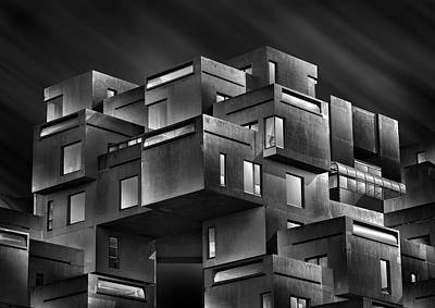 Montreal Wall Art - Photograph - Habitat 67 by Louis-philippe Provost