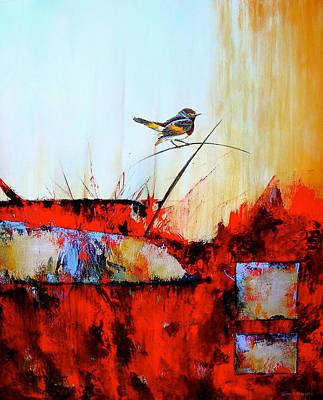 Animals Painting - Hacia Donde by Thelma Zambrano