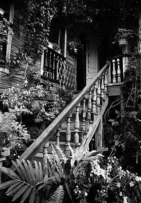 Hacienda Stairway Art Print by Ricardo J Ruiz de Porras