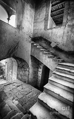 Hacienda Stairwell Art Print