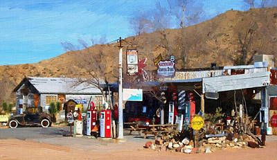 Photograph - Hackberry General Store by Robert Rhoads