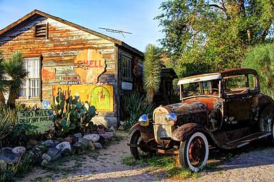 Glm-foto Photograph - Hackberry Store O Historic Route 66 In Arizona by Geri Linda Metterle