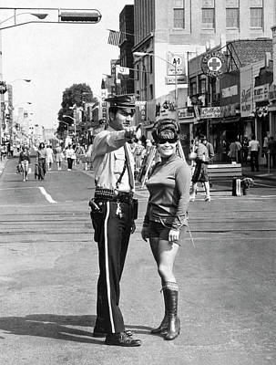 Police Officer Photograph - Hackensack Hot Pants by Underwood Archives