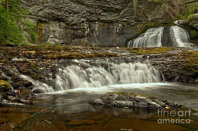 Photograph - Hackers Falls At Delware Water Gap by Adam Jewell