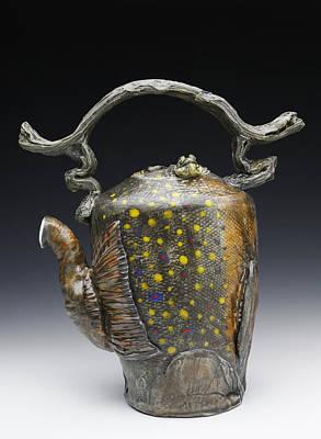 Ceramic Art - Hada Vi by Mark Chuck