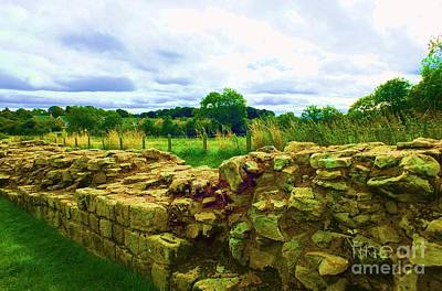 Photograph - Hadrian Wall by Vicky Tarcau