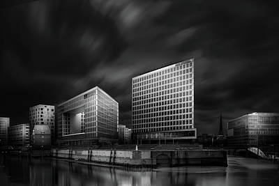 Germany Photograph - Hafencity And Spiegel Office Building by Matthias Hefner