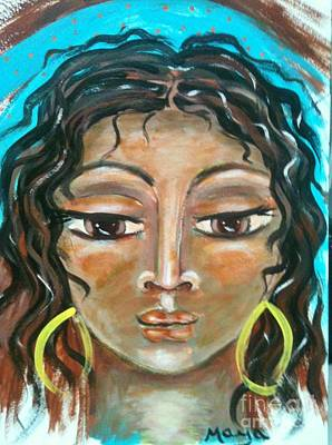 Visionary Art Painting - Hagar by Maya Telford