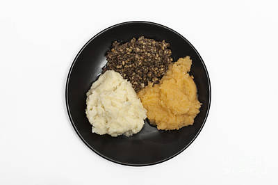 Photograph - Haggis Neeps And Tatties by Diane Macdonald