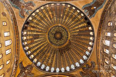 Hagia Sofia Ceiling Art Print