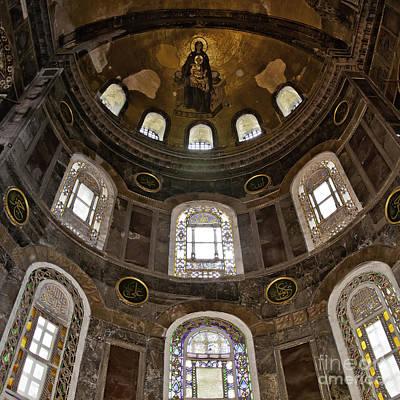 Religious Art Photograph - Hagia Sofia Interior 06 by Antony McAulay