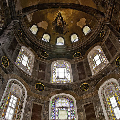 Hagia Sofia Interior 06 Art Print