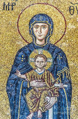 Hagia Sofia Mosaic 05 Art Print by Antony McAulay