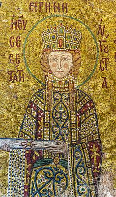 Hagia Sofia Mosaic 06 Art Print by Antony McAulay