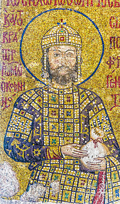 Hagia Sofia Mosaic 07 Art Print by Antony McAulay