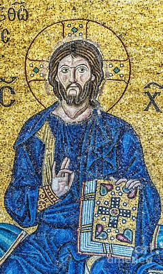 Hagia Sofia Mosaic 08 Art Print by Antony McAulay