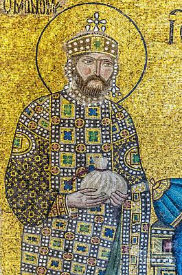 Hagia Sofia Mosaic 10 Art Print by Antony McAulay