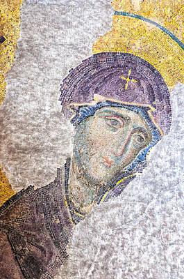 Hagia Sofia Mosaic 11 Art Print by Antony McAulay