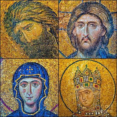 Hagia Sofia Mosaics Art Print by Antony McAulay