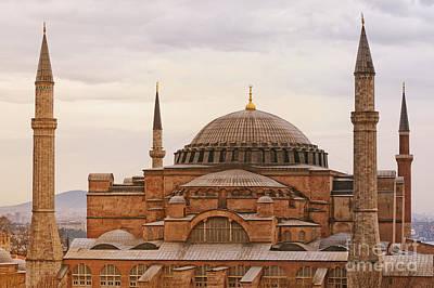Byzantine Photograph - Hagia Sophia 06 by Antony McAulay